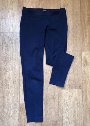 Брюки штаны классические со стрелками оригинал синие томми хилфигерtommy hilfiger
