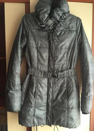 Зимнее пальто на синтепоне orsay новое