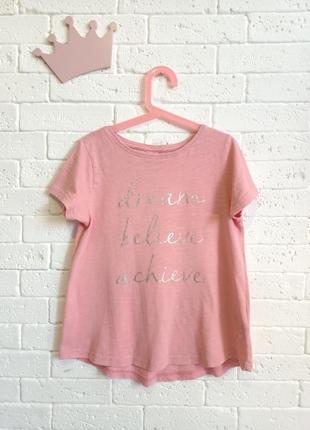 Стильна, легка футболка для дівчинки 140 см