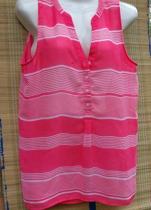 Gap красивая легкая блузка m/l