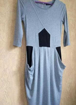 Трикотажное платье french connection