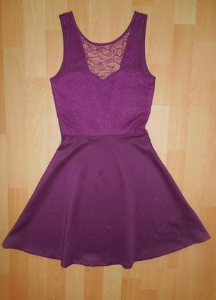 Красивое платье с открытой спиной h&m