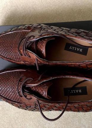 Кожаные туфли bally (оригинал) madе in italy