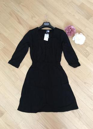 Вискозное платье на запах