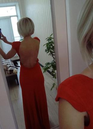 Вечернее платье в пол кriza