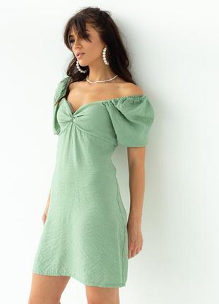 Лекгое мини платье