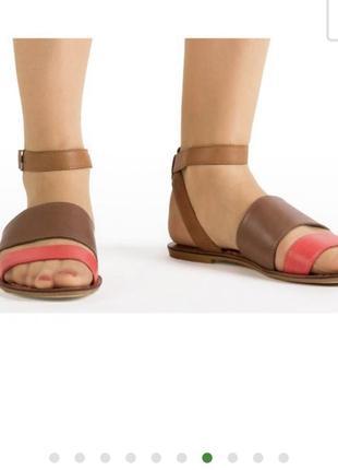 Удобные крутые кожаные босоножки сандалии clarks/оригинал