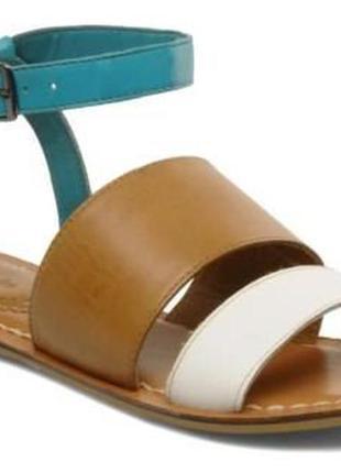 Шикарные удобные крутые кожаные босоножки сандалии clarks/оригинал