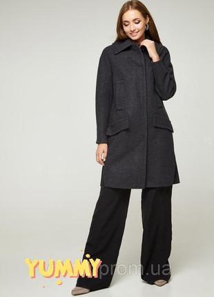 Стильное шерстяное пальто volange