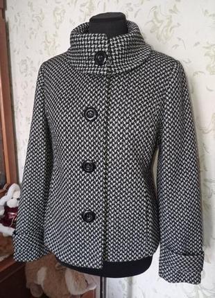 Пальто короткое petite collection uk10   демисезонное