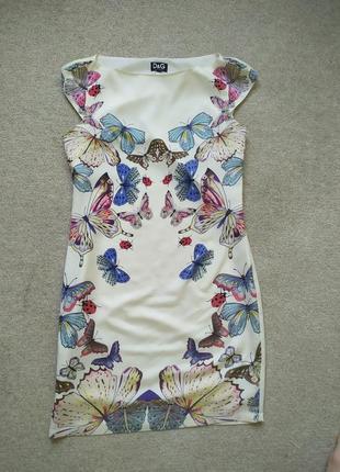 Красивое платье d&g