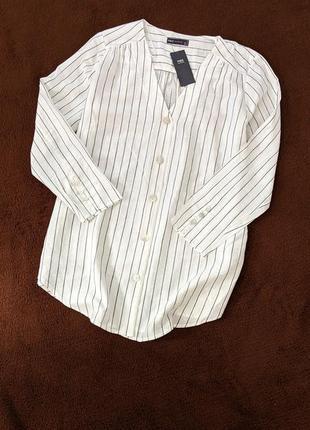 Mark's & spencer.   тоненькая блуза р.14