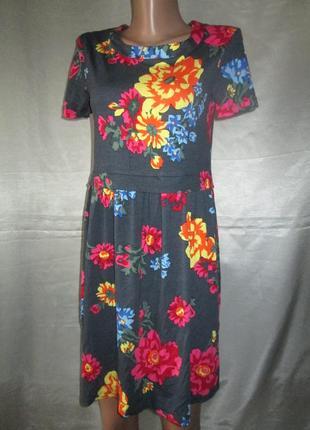 Платье лето, вискоза.
