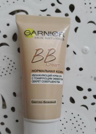 Тональный крем garnier bb