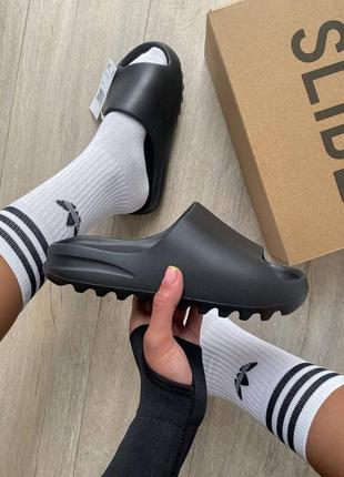 Женские шлепки adidas yeezy slide топ качества!