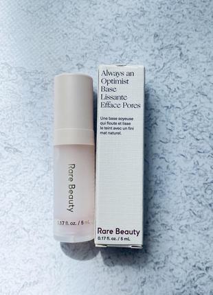 Праймер затирка для пор rare beauty pore diffusing primer- always an optimist collection