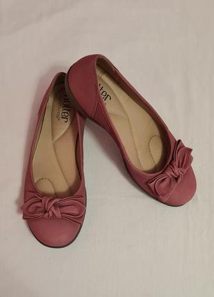 Hotter туфли туфлі макасіни мокасини балетки