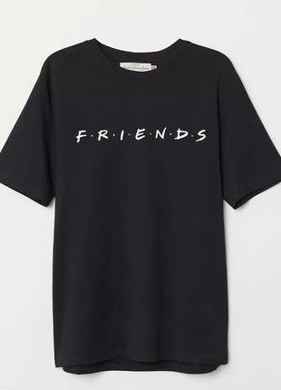 Футболка h&m,friends