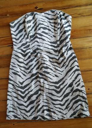 Платье джинс 40