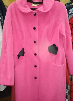 Пальто из натуральной шерсти