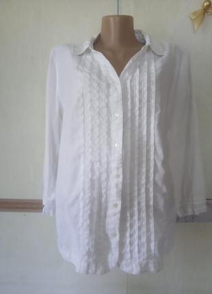 Льняная рубашка viyella p.12