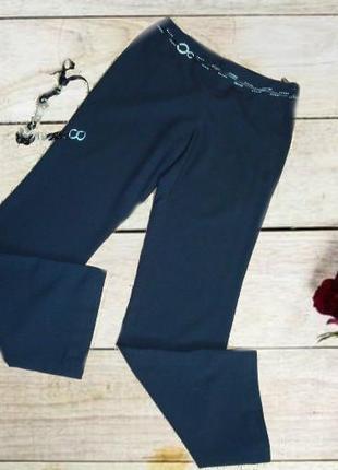 🌺🌺летние женские брюки легкие средняя посадка черные 48🌺🌺🌺