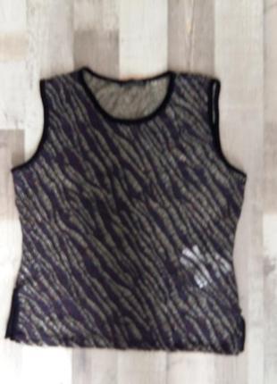 Блузка гипюр 40