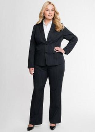 Черный брючный  деловой костюм от dorothy perkins брюки пиджак