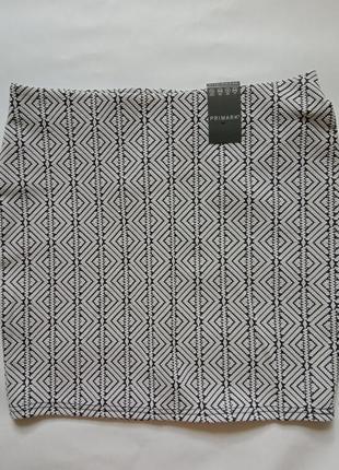 Новая мини юбка primark