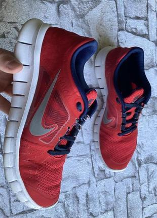 Nike free run 3 кроссовки женские 38-39 размер оригинал б у
