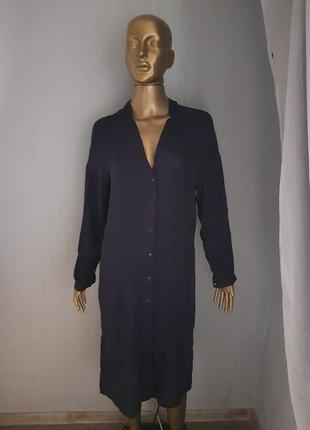 Оригинальное платье рубашка mango