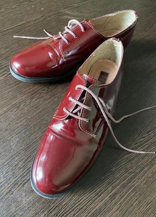 Туфли оксфорды лоферы