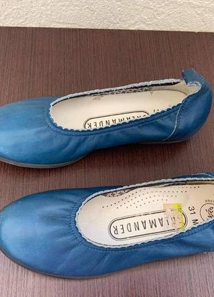 Кожанные туфельки тм «salamander» р.31/19,5см.