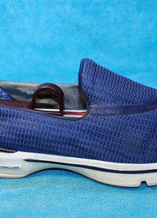 Skechers мокасины 40 размер синие