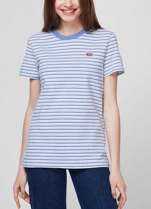 Женская футболка в полоску levi's original [ 39185-0092 ]
