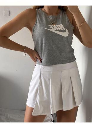 Теннисная юбка шорты nike
