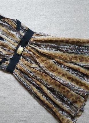 Платье шифоновое elisabetta franchi