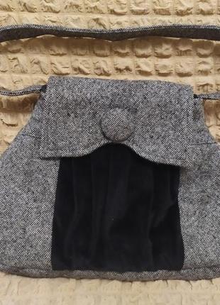 Шерстяная новая сумочка
