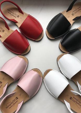 Менорки, кожаные босоножки. кожаные сандалии, испания