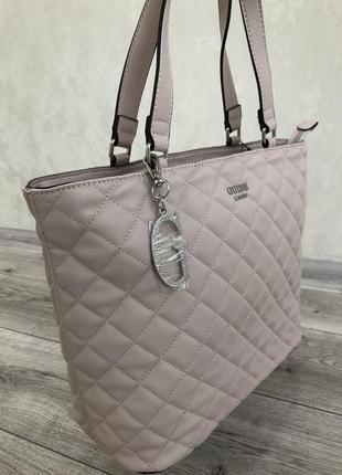 Женская сумка-шоппер от guess!!