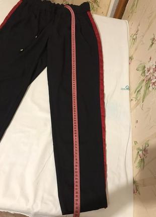 Штаны свободные zara basic2 фото