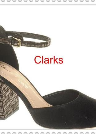 Clarks  оригинал  женские кожаные босоножки р 41