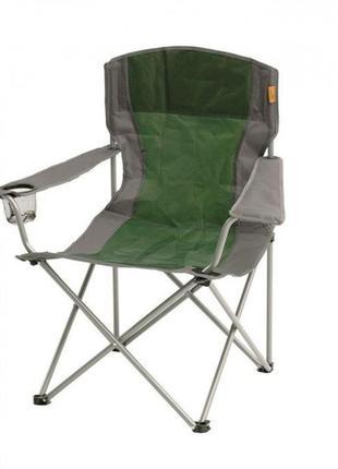 Кресло раскладное для  отдыха крісло розкладне easy camp arm chair зелений 480046