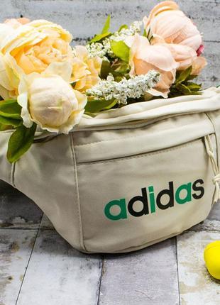 Бананка, сумка на пояс, спортивная, через плечо, адідас, адидас, adidas