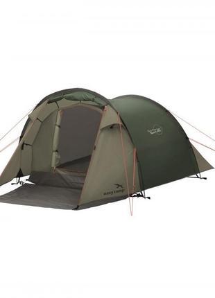 Палатка туристическая намет 2-місний easy camp spirit 200 темно-зелений 120396