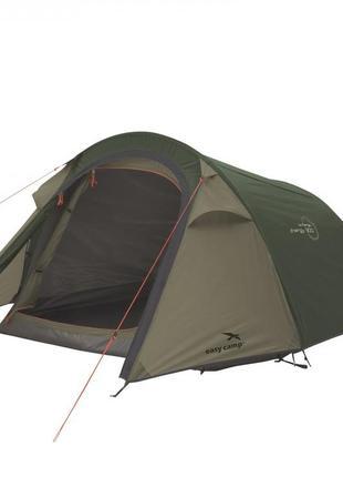 Палатка туристическая намет 2-місний easy camp energy 200 темно-зелений 120388