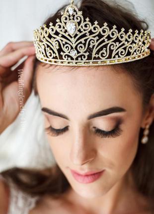 Свадебная корона, свадебная диадема