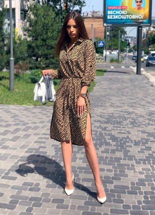 Летнее женское платье туника