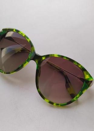 Новые очки alexander mcqueen оригинал яркие солнцезащитные маквин крупные