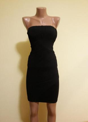 Красивое платье-бюстье zara